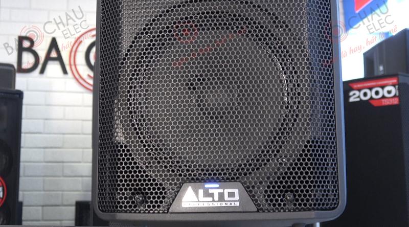 Loa Alto TX 208 sử dụng 1 củ bass 20cm