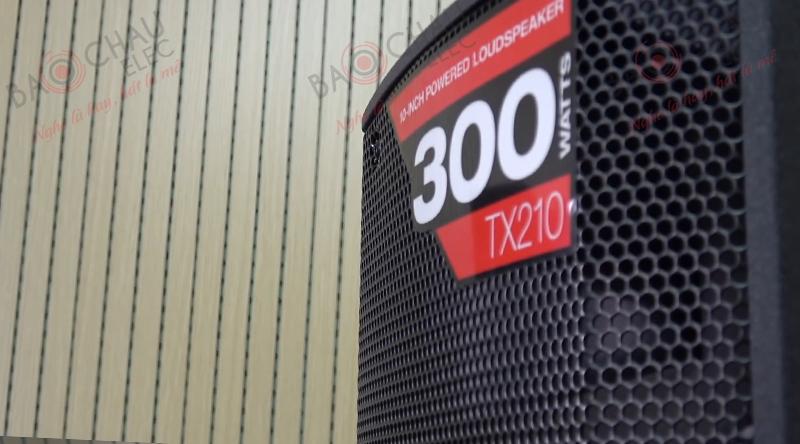 Loa Alto TX210 mang cấu trúc 2 loa, 2 đường tiếng