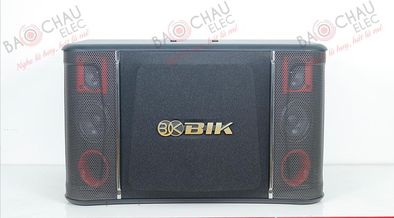 Loa BIK BJ-S968 sở hữu thiết kế hiện đại, sang trọng, phù hợp với mọi không gian giải trí
