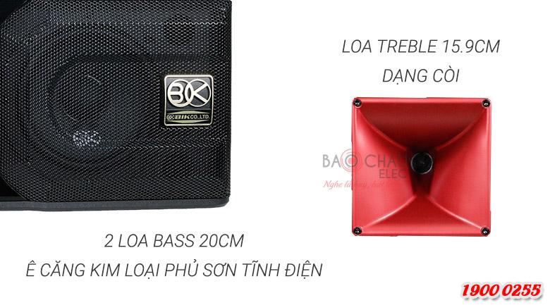 Loa BIK BP S35 đóng vai trò làm loa trung tâm trong bộ dàn