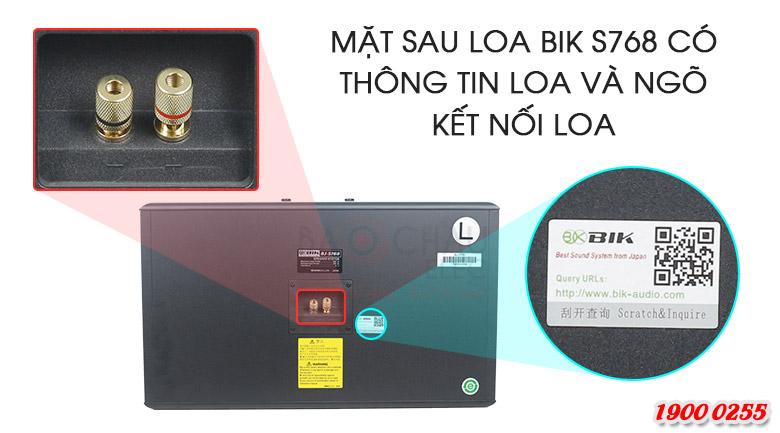 Loa karaoke BIK BJ-S768
