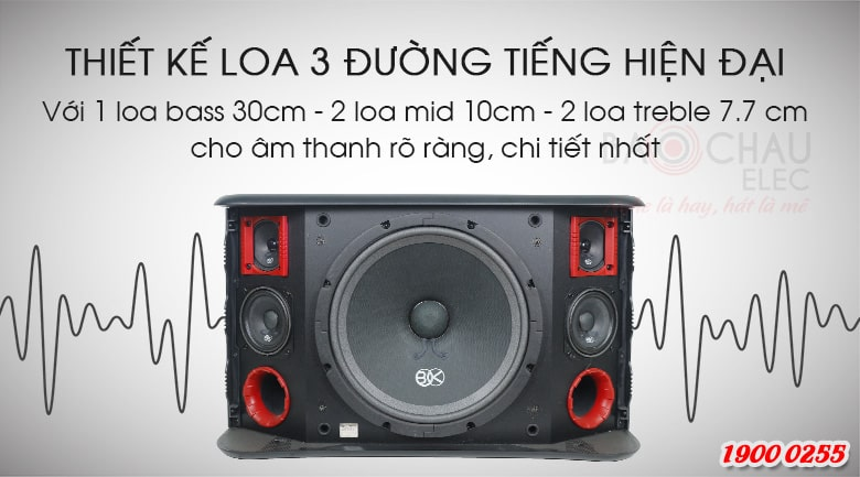 Loa karaoke BIK BJ-S968