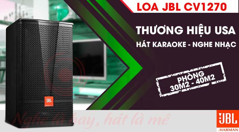 Loa karaoke JBL CV1270 hát hay, giá tốt