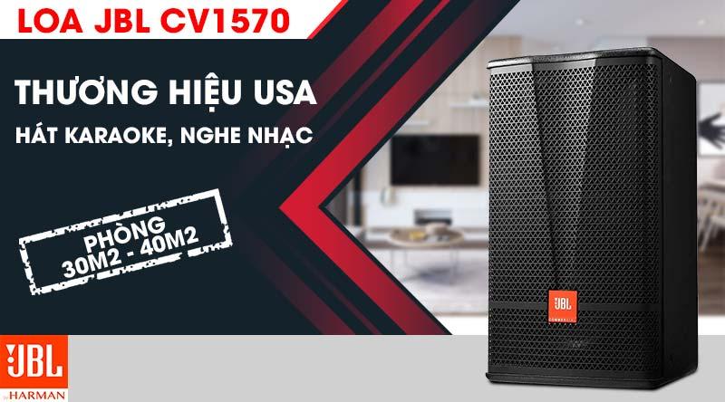 Loa JBL CV1570 chuyên dụng cho nhu cầu hát karaoke và nghe nhạc