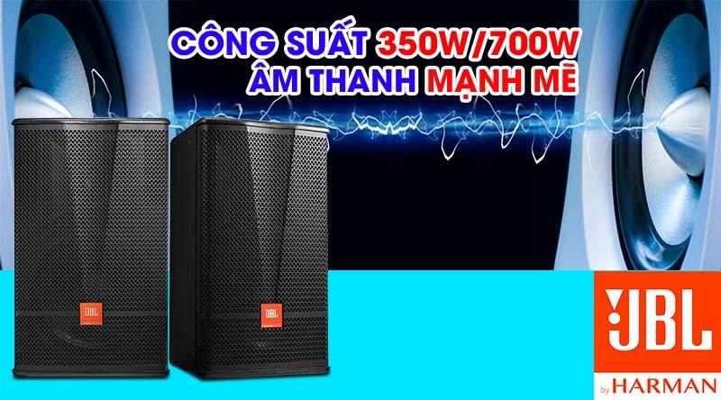Loa karaoke JBL CV1570 cho công suất mạnh mẽ