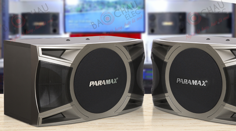 Loa Paramax sang trọng, đẹp mắt trong từng đường nét