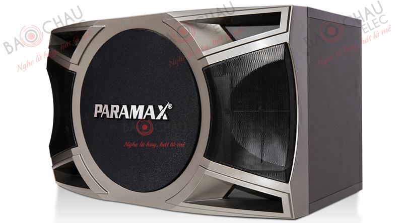 Mặt trước loa Paramax P2000 new với tấm ê - căng được thiết kế tinh xảo