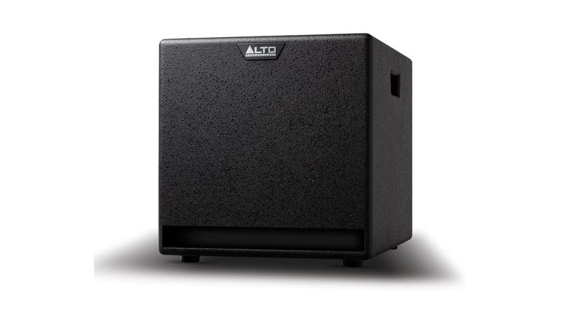 Loa sub điện Alto TX212S thiết kế nhỏ gọn