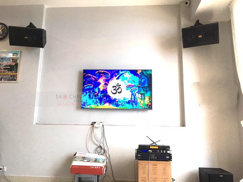 Dàn karaoke BMB cho gia đình anh Hòa ở Đồng Nai
