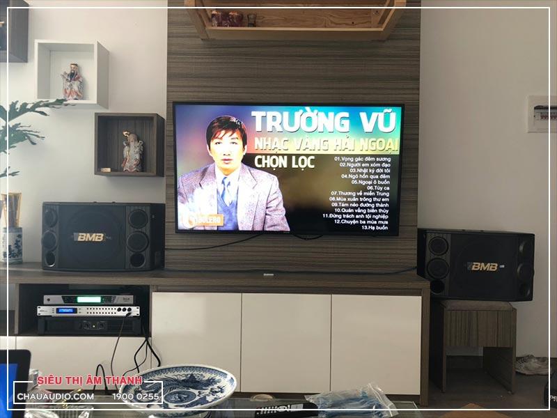Những hình ảnh về bộ dàn karaoke tầm 30 triệu của gia đình anh Pháp tại Bắc Ninh