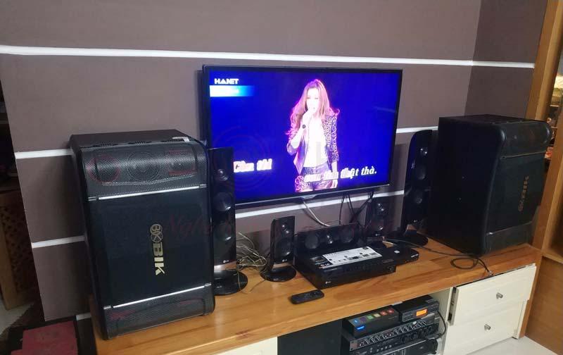 Lắp đặt dàn karaoke gần 22 triệu cho gia đình anh Hùng tại Q4, TP HCM