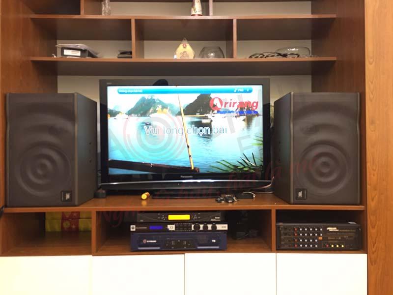 Lắp đặt dàn karaoke gia đình 48 triệu cho anh Thắng ở Mai Hắc Đế - HN