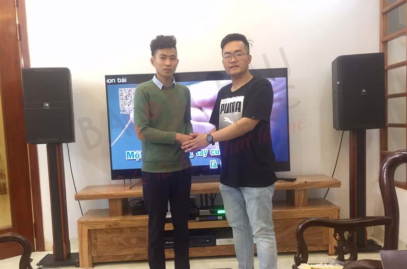 Lắp đặt dàn karaoke gia đình JBL cao cấp tại Thanh Hóa