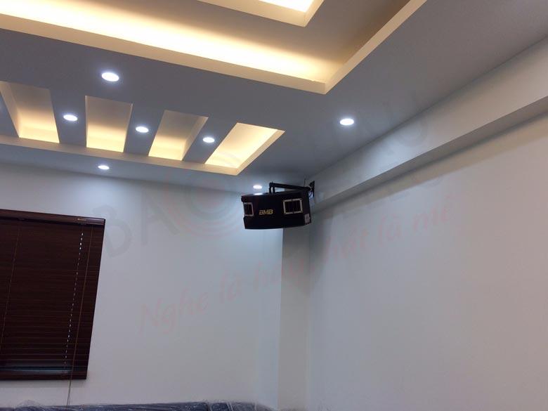 Lắp đặt dàn karaoke cao cấp cho gia đình anh Sơn tại Đông Dư - Đông Anh - HN