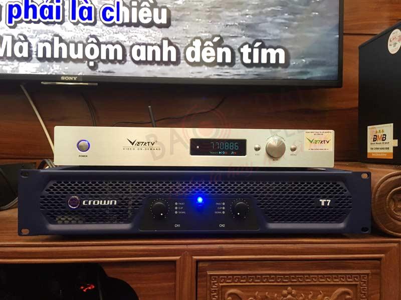Dàn karaoke hơn 100 triệu của cô Diệp tại Ngô Quyền (HP)