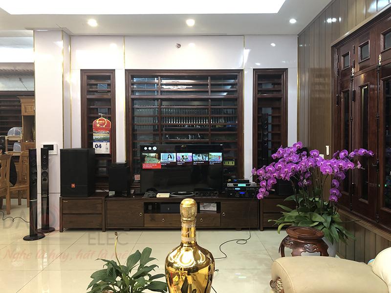 Khách hàng tại Hà Nội lựa chọn dàn karaoke gia đình tại Bảo Châu Elec
