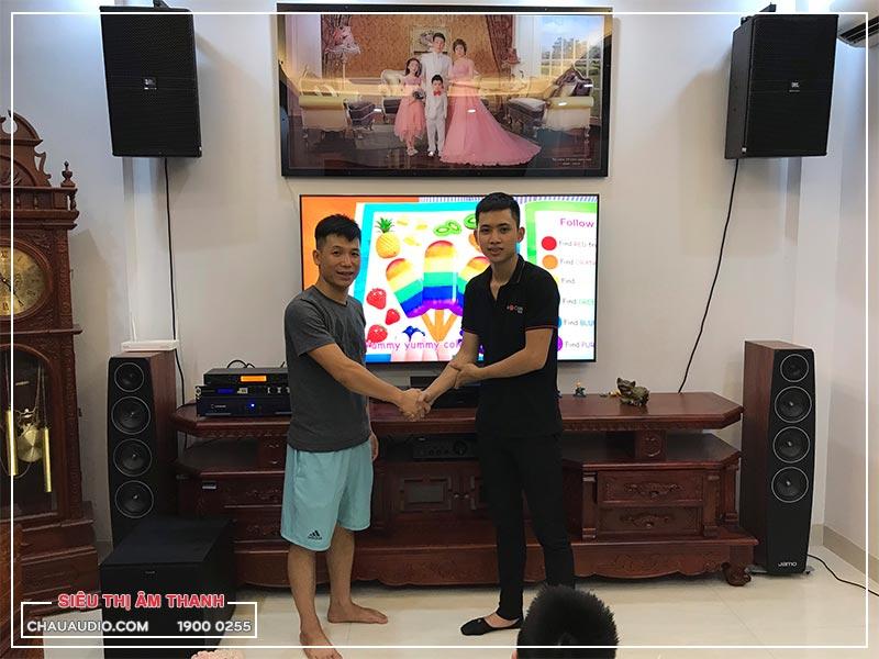 Khách hàng tại Hà Nội chọn mua dàn karaoke cao cấp tại Bảo Châu Elec