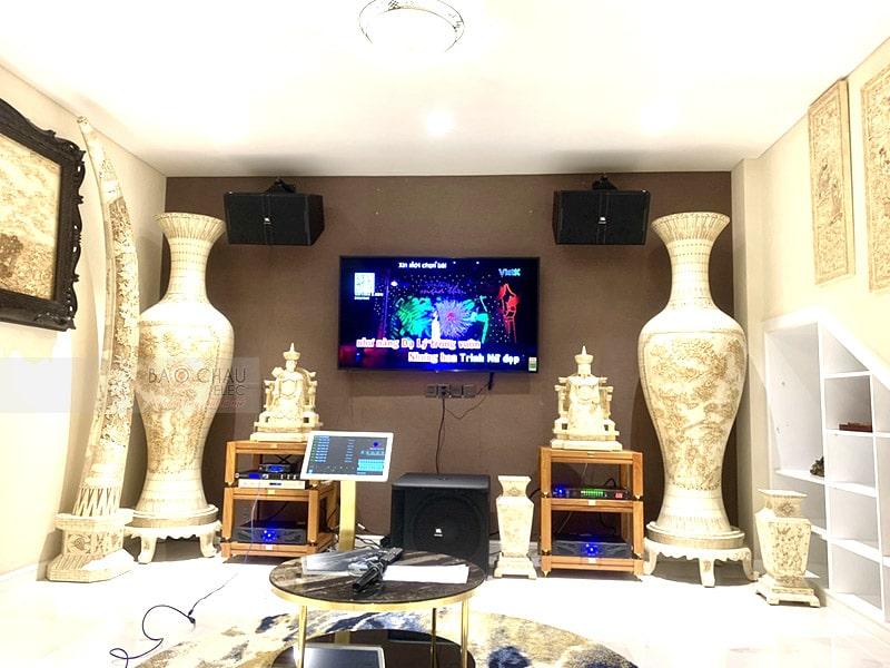 Dàn karaoke JBL VIP cho gia đình anh Hà ở HCM h8
