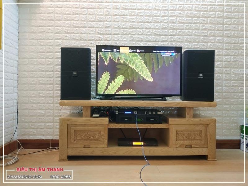 Lắp ráp dàn karaoke gia đình hơn 40 triệu cho anh Tuyên tại quận 9, TPHCM