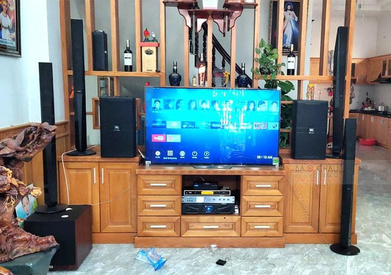 Khánh hàng tại TP. Hồ Chí Minh lựa chọn loa JBL KP4010 cho dàn karaoke của gia đình mình