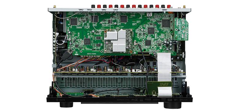 Amply Denon trang bị hệ thống xử lý âm thanh cao cấp
