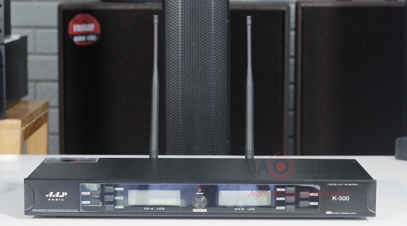 Micro karaoke không dây AAP K500 - ảnh 1