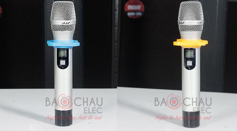 Micro karaoke không dây AAP K500 - ảnh 4