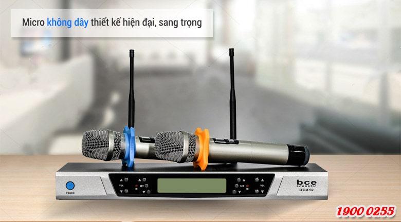 Bộ micro không dây BCE UGX12