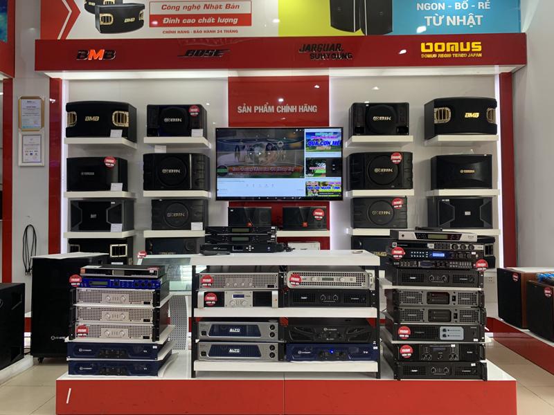 Loa karaoke, cục đẩy công suất, vang số, amply, micro,... chính hãng, giá rẻ nhất Việt Nam