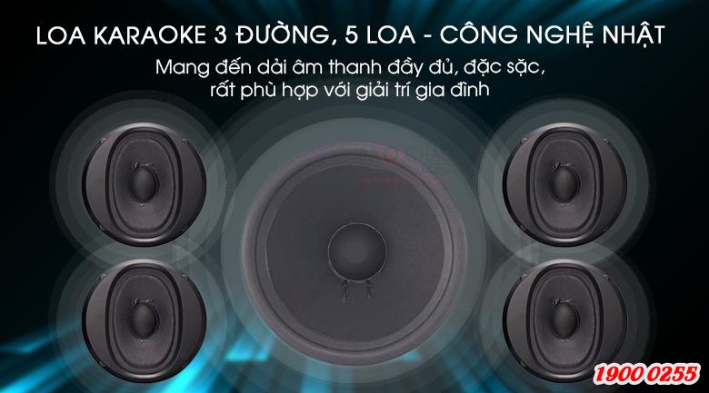 Loa karaoke BMB CSE-312(SE) Nhật Bản cấu tạo 3 đường, 5 loa