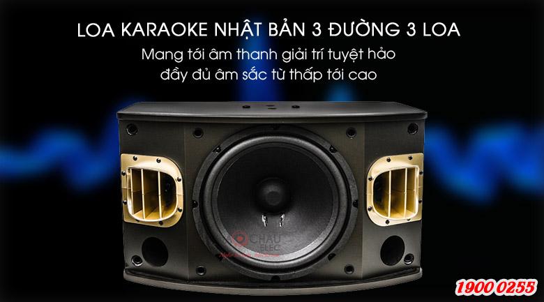 Loa karaoke BMB CSV-900(SE) Cấu tạo giúp âm thanh đầy đủ, đặc sắc