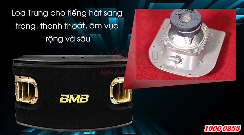 Loa karaoke BMB CSV-900(SE) Loa Trung cho nâng tiếng háthơn