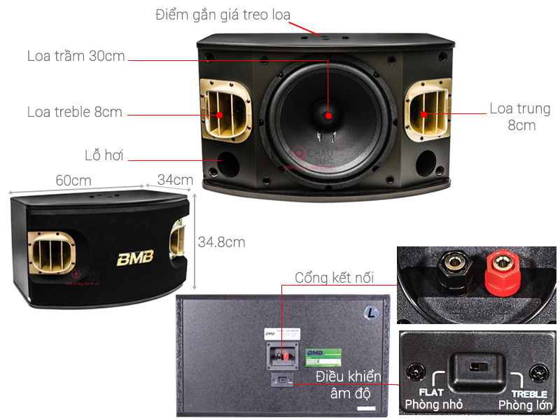 Loa BMB CSV900(SE) (bass 30cm)
