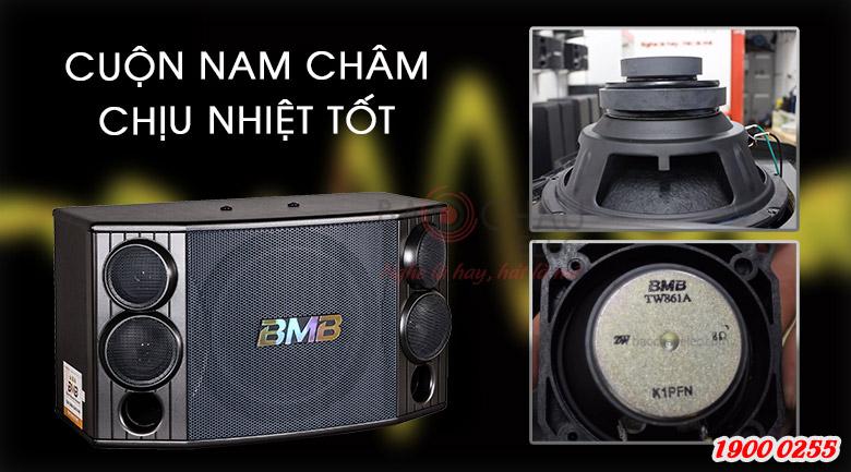 Cuộn nam châm chịu nhiệt tốt giúp Loa BMB CSD-880(SE) sử dụng bền lâu hơn