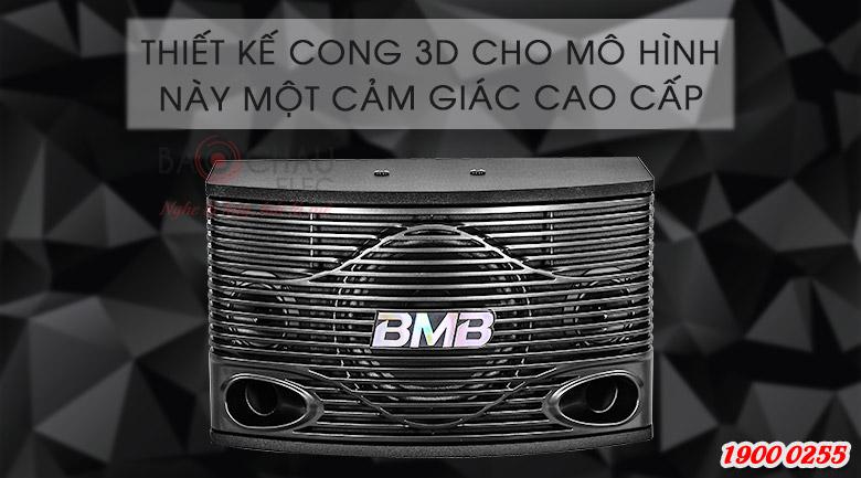 Thiết kế cong 3D cho cảm giác mới lạ