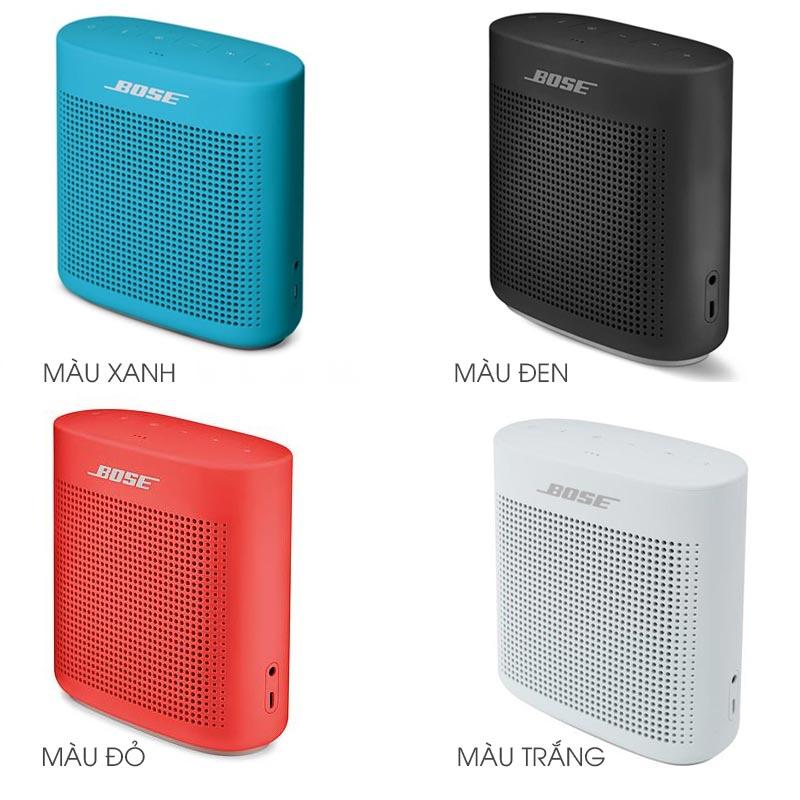 Loa Bluetooth Bose SoundLinkColor II có những màu nào?