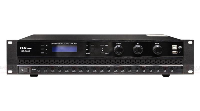 Cục đẩy liền vang BKsound DP3600 thích hợp công nghệ hiện đại