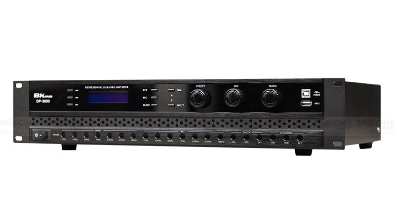 Cục đẩy liền vang BKsound DP3600 khả năng kết nối hiệu quả