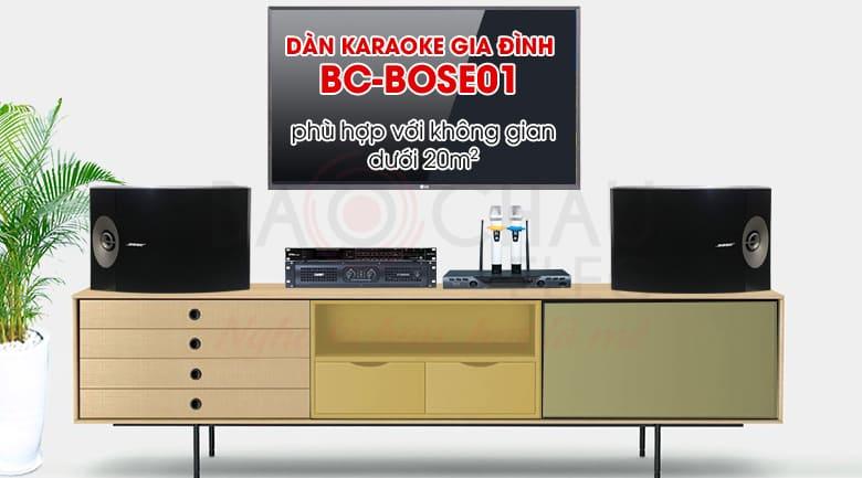 Dàn karaoke gia đình Bose 01