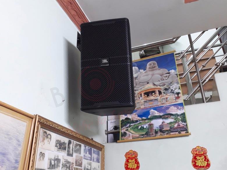 Lắp đặt dàn karaoke hơn 35 triệu cho gia đình anh Bình - Bình Dương