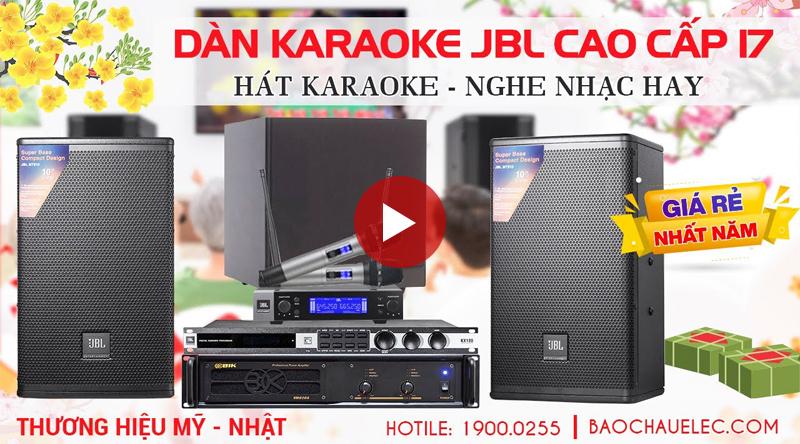 Dàn karaoke JBL cao cấp 17