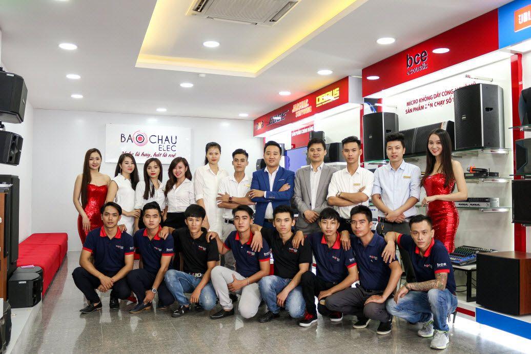 Showroom âm thanh Bảo Châu Elec HCM