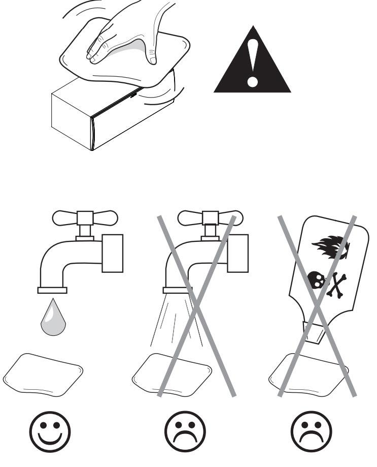 Hướng dẫn sử dụng loa Jamo S628: Lưu ý khi vệ sinh loa