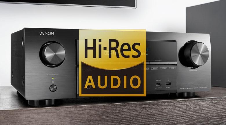 Âm thanh Hi-Res Audio thời thượngtrên Denon AVR-X1500H