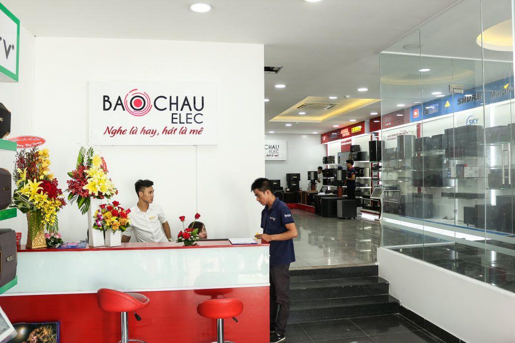 Showroom Bảo Châu Elec đặt tại TP. Hồ Chí Minh