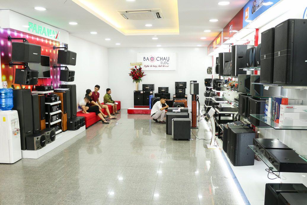 Showroom âm thanh Bảo Châu Elec tại TP. Hồ Chí Minh