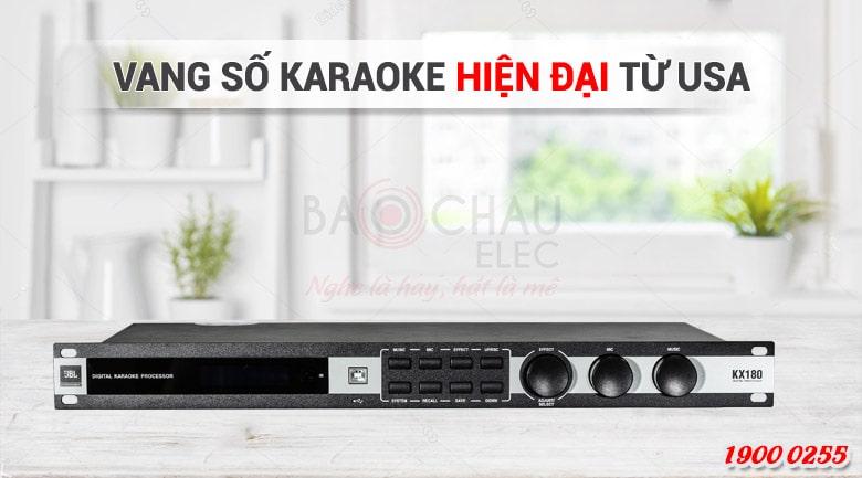 Vang số JBL KX180 - Top 3 vang số karaoke gia đình hay nhất