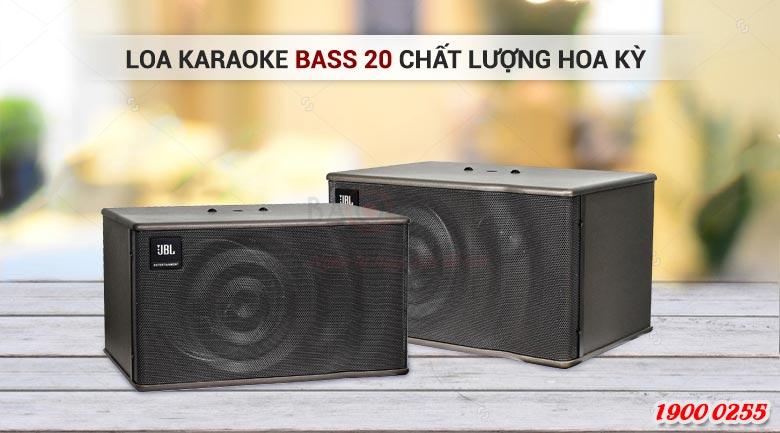 Loa karaoke bass 20cm chất lượng cao, kiểu dáng đẹp cho phòng dưới 15m2