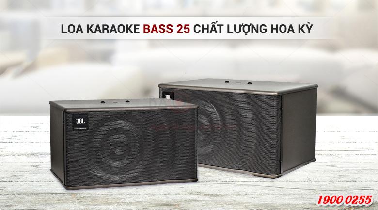 Loa karaoke bass 25cm chất lượng cao, kiểu dáng đẹp cho phòng 15-20m2