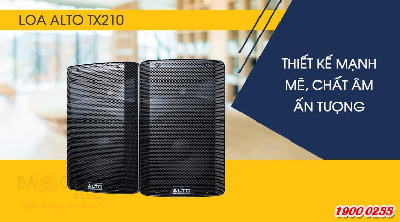 Loa Alto TX210 liền công suất, tiện lợi